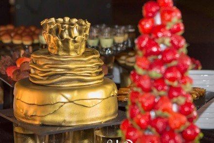 Tarta de la boda. | Goyo Catering