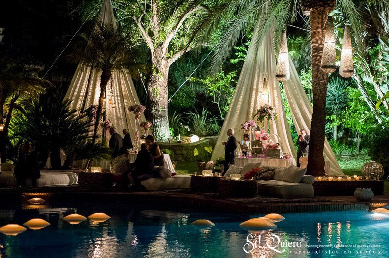 Espacios chill out en un evento elegancia y tranquilidad for Chill out jardin